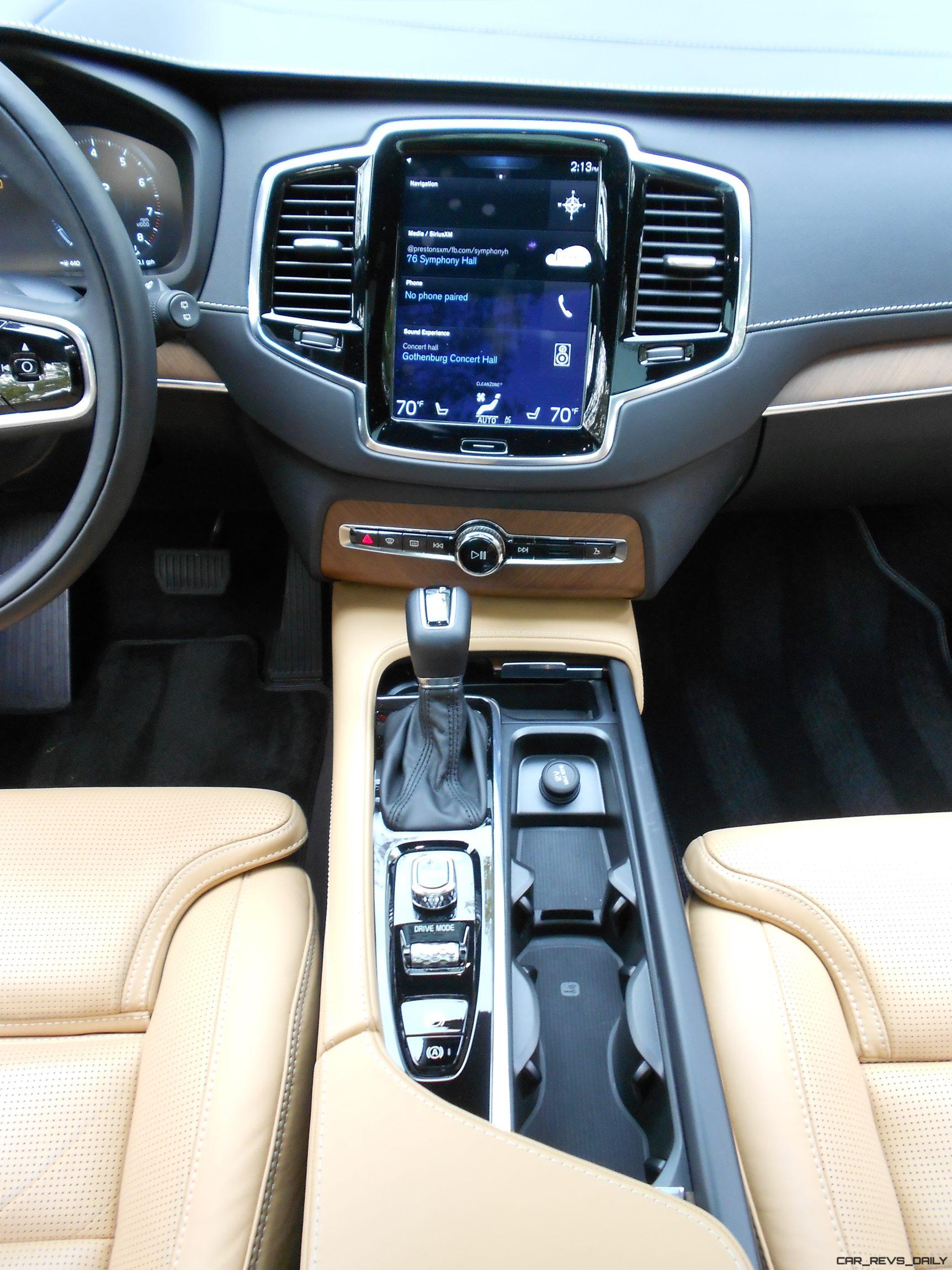 2017 Volvo Xc90 T6 Inscription Awd Interior Photos 5