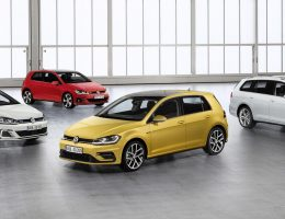 Volkswagen Unveils Updated 2018 Golf Lineup