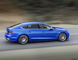 2018 Audi A5 and S5 Sportback – 4-Door Coupes Coming to USA!