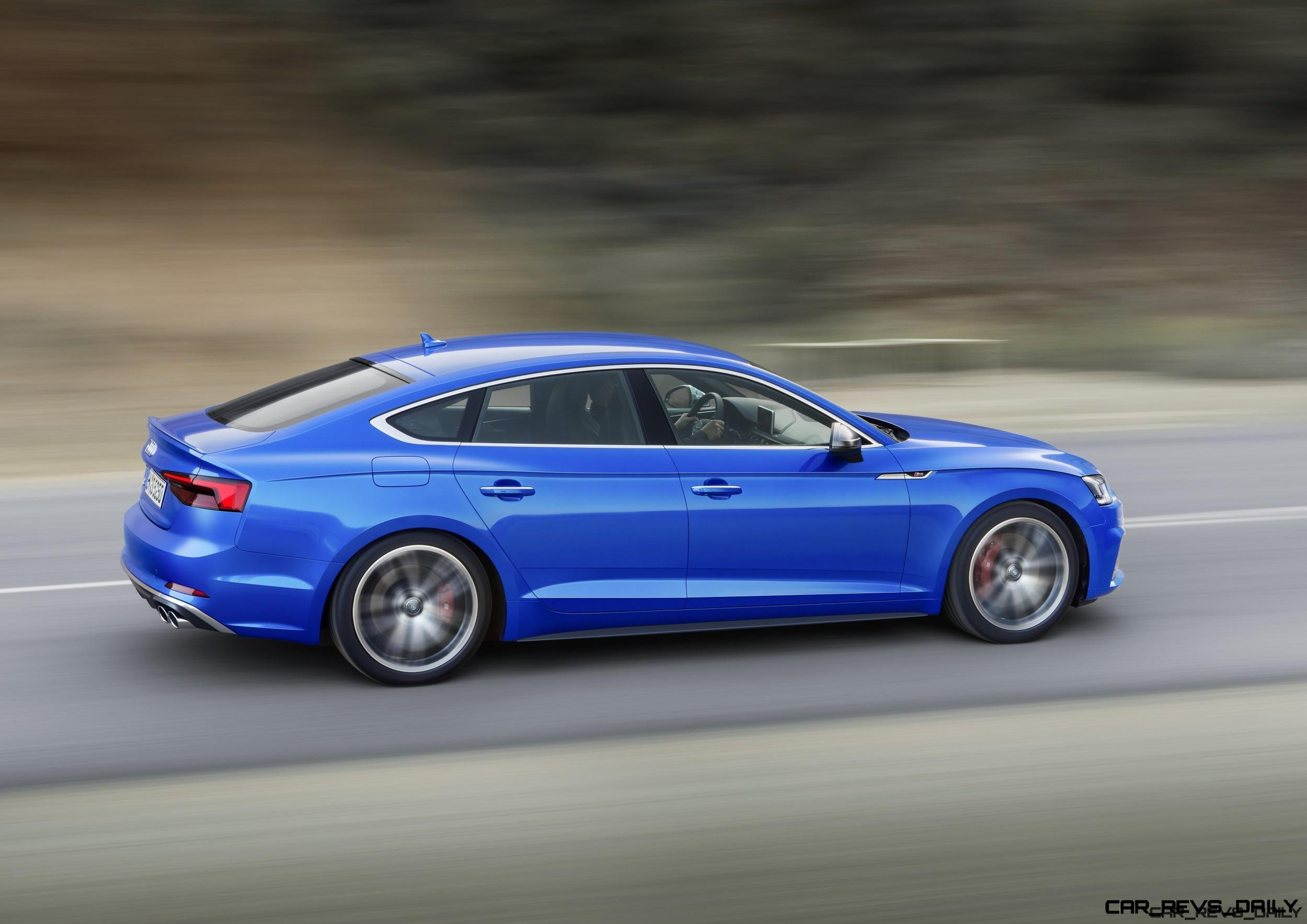 2018 Audi A5 and S5 Sportback - 4-Door Coupes Coming to USA!
