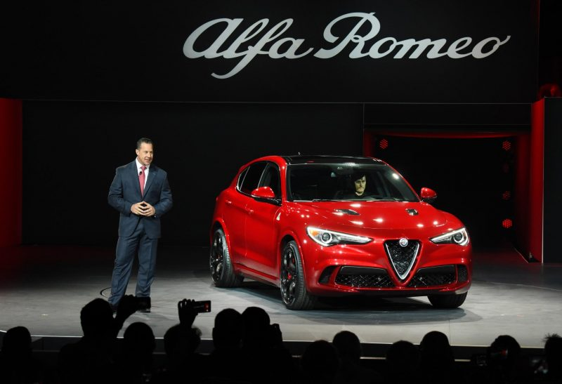 505hp 3 9s 2018 Alfa Romeo Stelvio High Performance Suv Wows La
