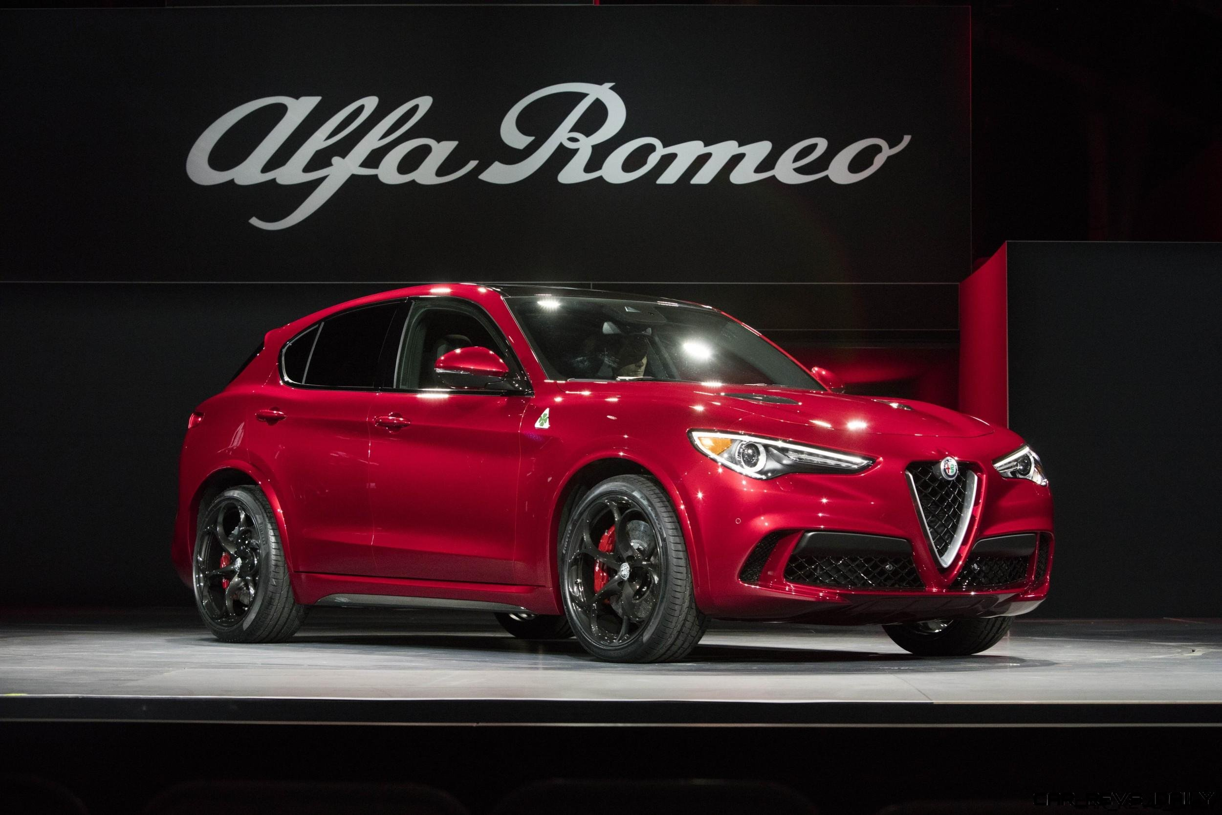 505hp 39s 2018 Alfa Romeo Stelvio High Performance Suv Wows La Rear Axle