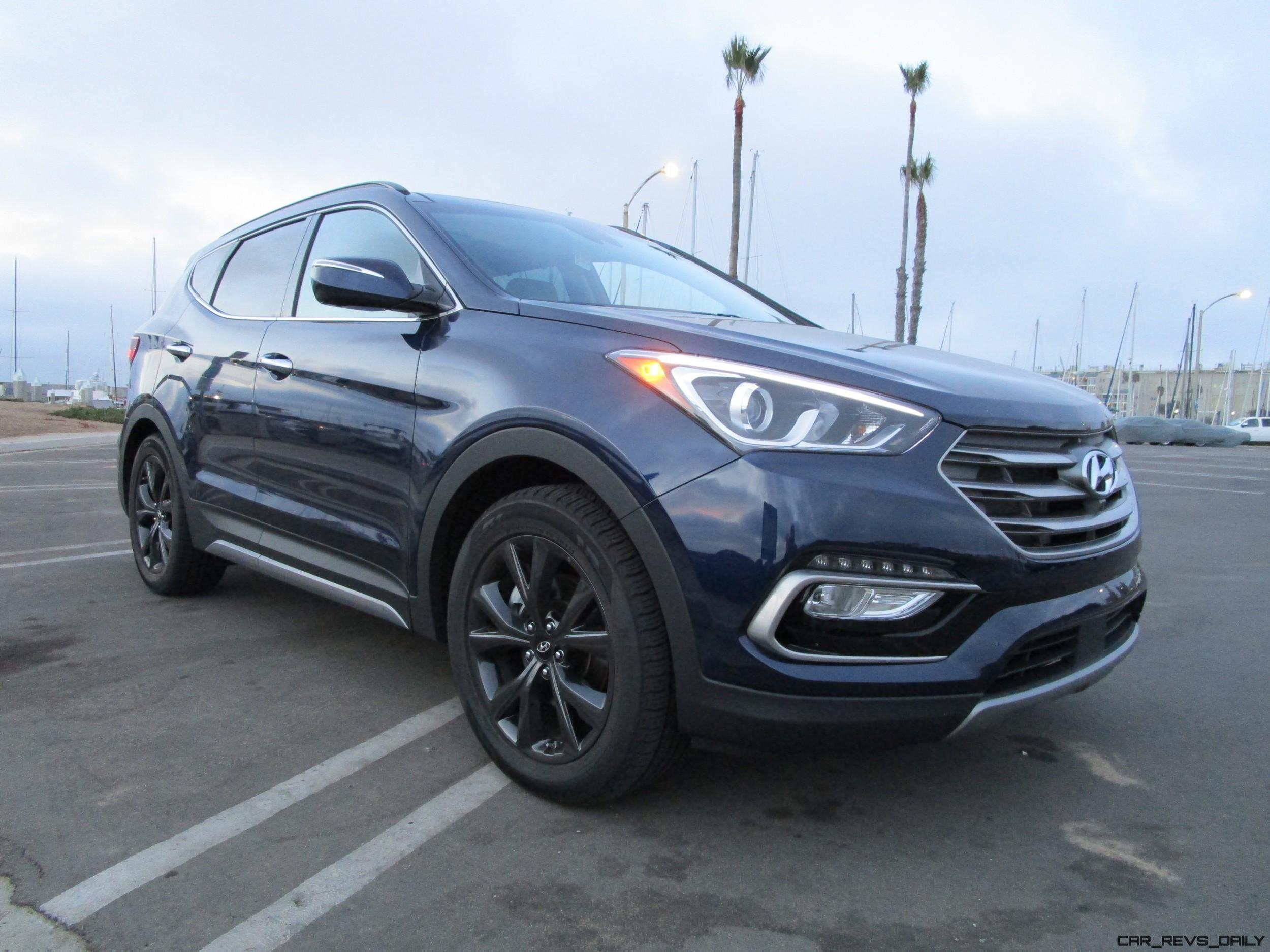 2017 hyundai santa fe sport 2 0t awd road test review by ben lewis. Black Bedroom Furniture Sets. Home Design Ideas