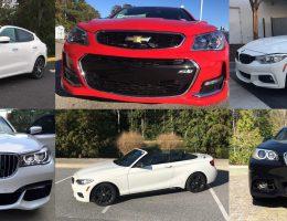 Cars of Our Lives – Levante S, M235i Cabrio, 550i Shadowline, 740i, X1, 320i and 440 Gran Coupe