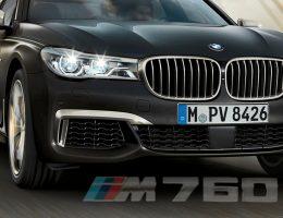 2017 BMW M760i xDrive – V12TT Range-Topper Lags Alpina B7 to 60MPH
