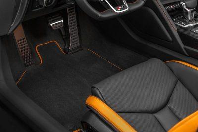 Audi R8 V10 Plus Exclusive Edition (closeup)