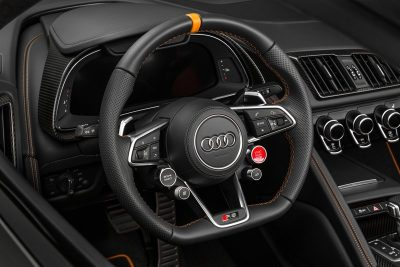 Audi R8 V10 Plus Exclusive Edition (steering wheel)