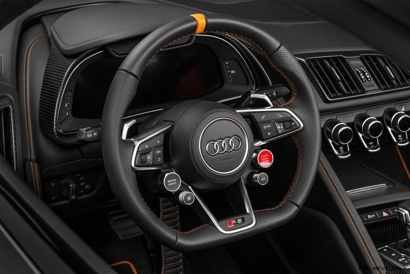 Audi R8 V10 Plus Exclusive Edition (steering wheel)