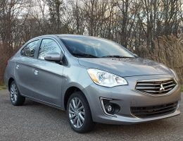 Road Test Review – 2017 Mitsubishi Mirage G4 SE – By Carl Malek