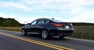 2017 Genesis G80 5.0 Ultimate - HD Road Test Review - By Tom Burkart on honda civic hf review, lexus hs 250h hybrid review, nissan altima hybrid review, 2014 accord hybrid review, acura ilx hybrid review, toyota rav4 ev review, chevy malibu hybrid review, buick lacrosse hybrid review, ford flex hybrid review, buick regal hybrid review, honda civic ex review, honda civic coupe review, toyota harrier hybrid review, honda civic si, honda civic del sol review, ford explorer hybrid review, ford fusion hybrid review, honda civic natural gas review, honda civic hatchback review, honda insight hybrid,