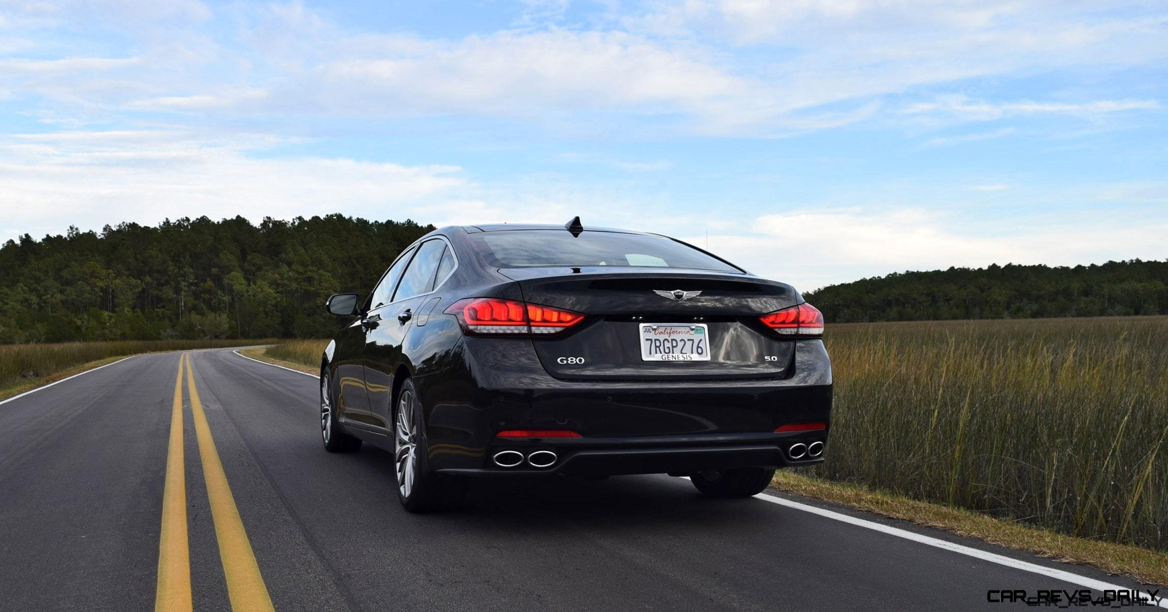 2017 Genesis G80 5 0 Ultimate Hd Road Test Review By Tom Burkart