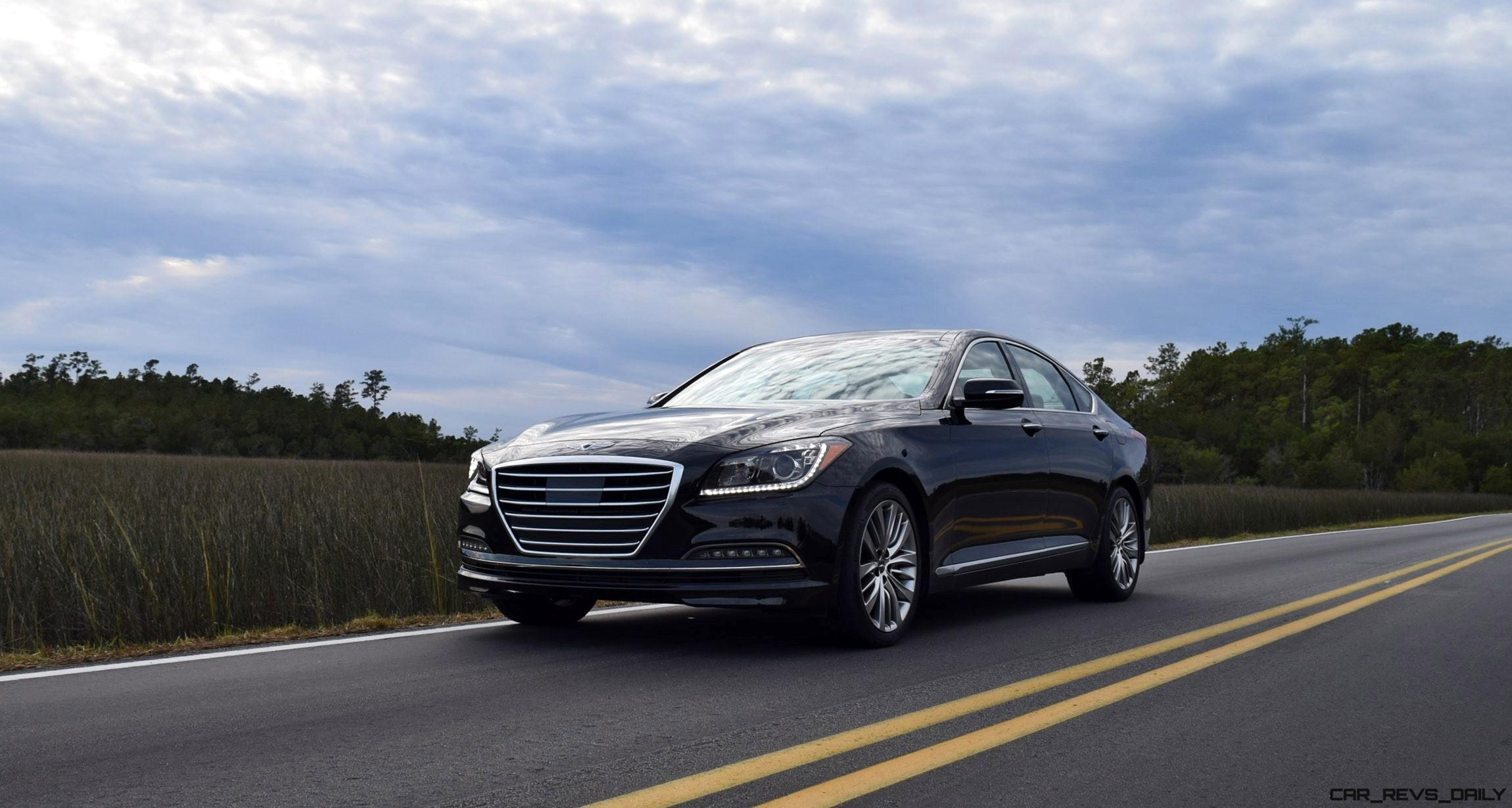 2017 Genesis G80 5 0 Ultimate Hd Road Test Review 8