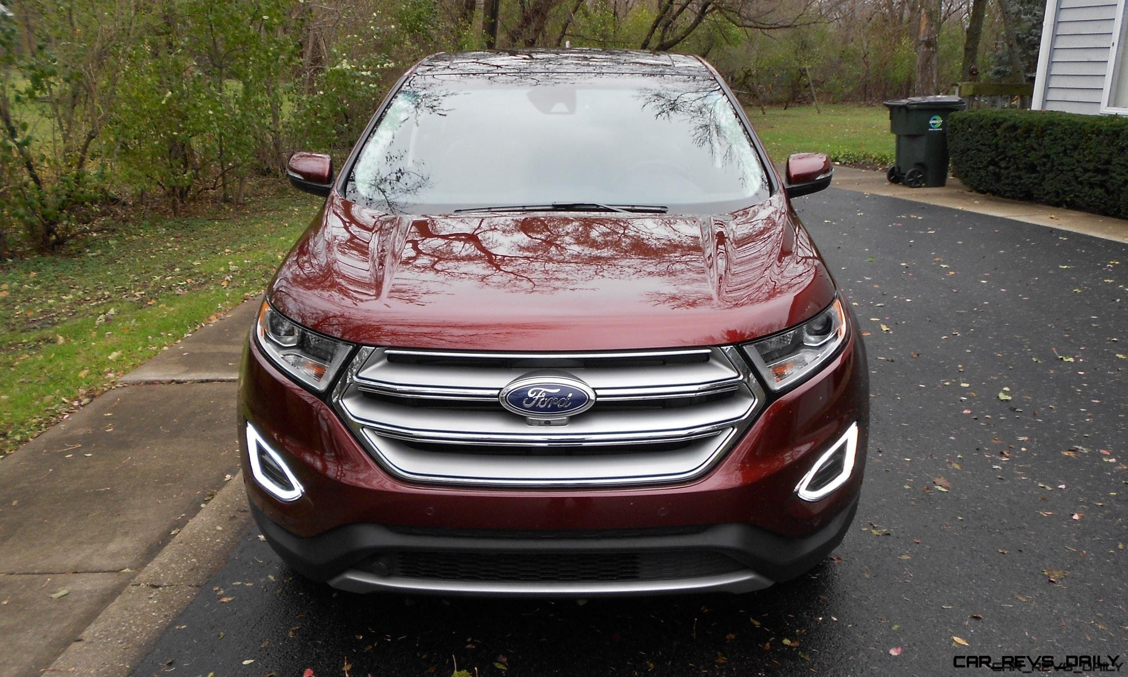 2016 Ford Edge Titanium Road Test Review By Ken Hawkeye