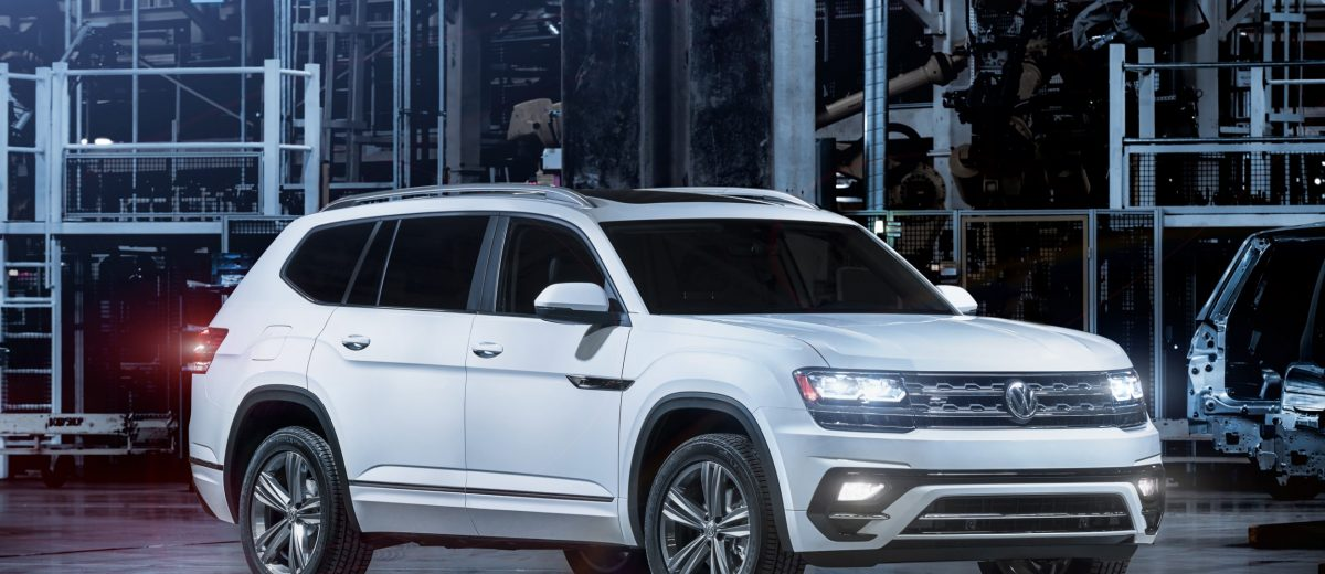 Amazing 2018 VW Atlas RLine First Look  Arrives May 2017 To USA