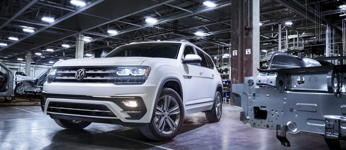 Elegant 2018 VW Atlas RLine First Look  Arrives May 2017 To USA