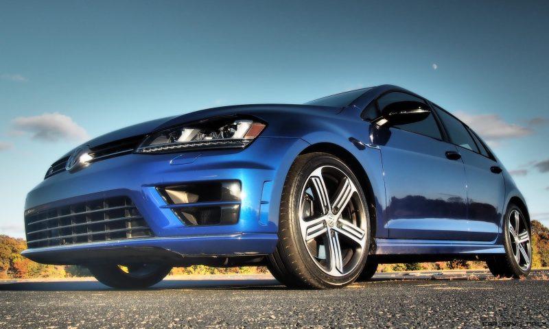 2016 VW Golf R Lapiz Blue by Lyndon Johnson 2