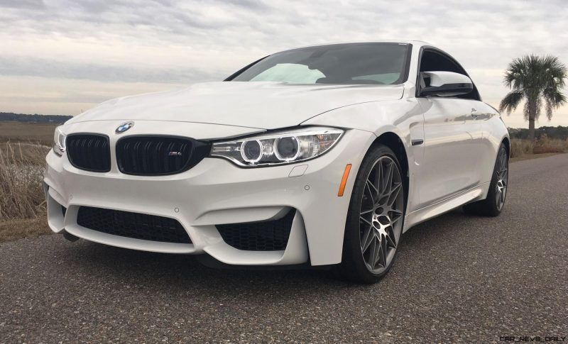 2017 BMW M4 Competition Package Convertible 11