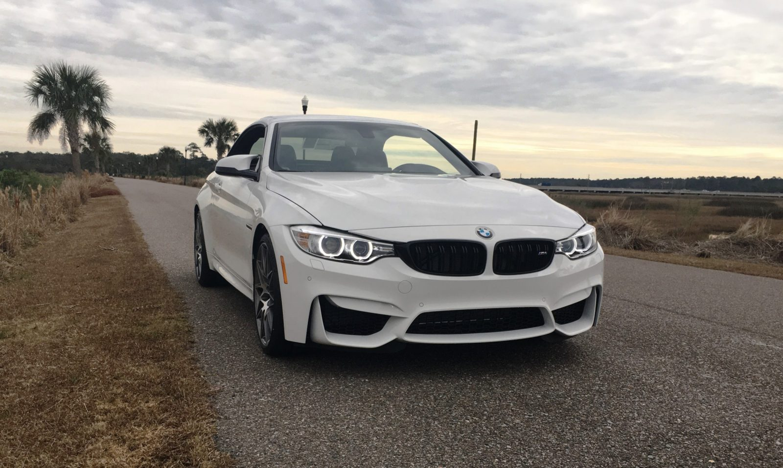 2017 BMW M4 Competition Package Convertible 3