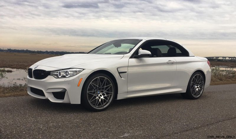 2017 BMW M4 Competition Package Convertible 9