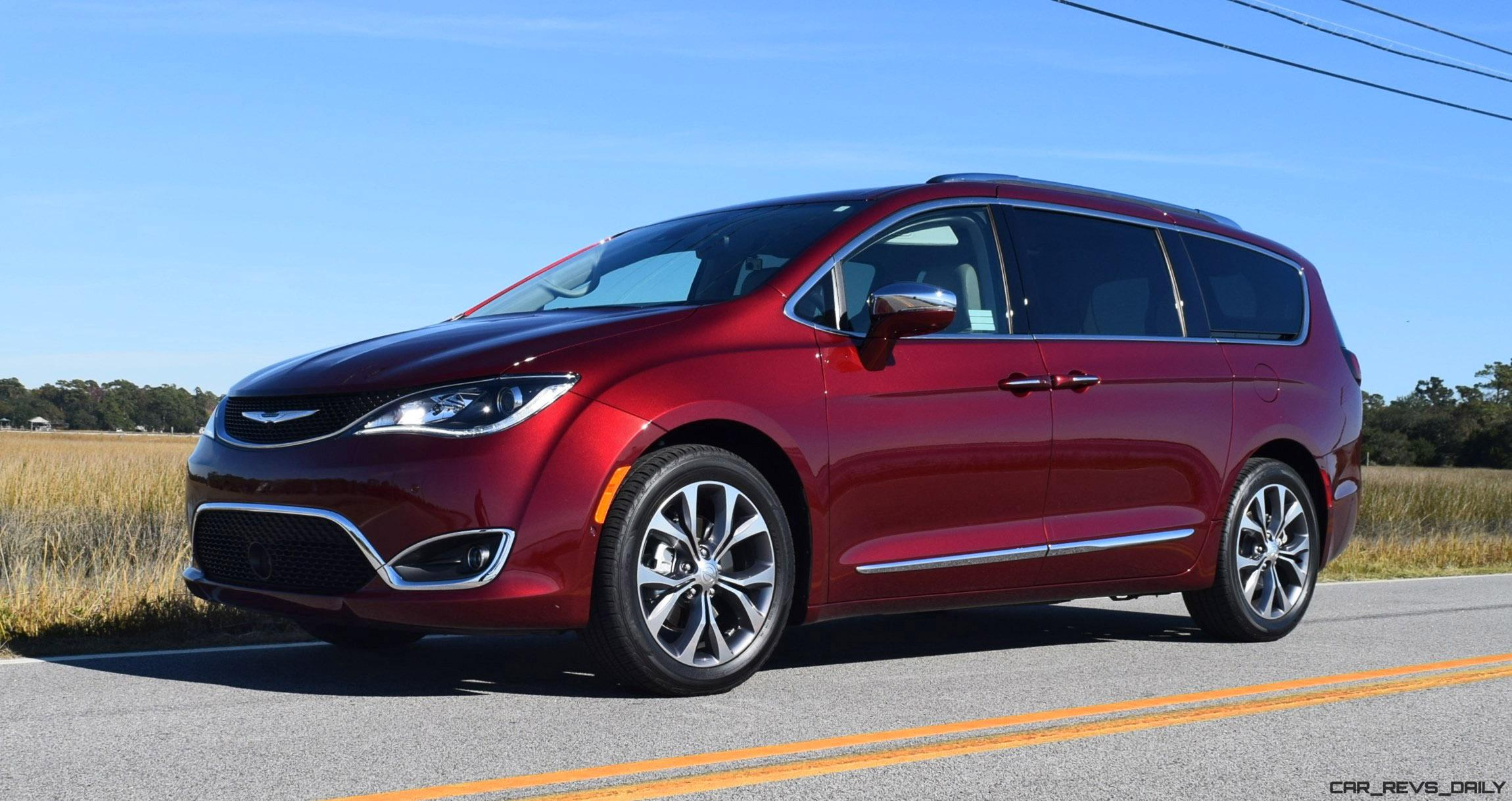 Luxury 2017 Chrysler Pacifica  HD Drive Review  VAN OF THE YEAR AwardWinner
