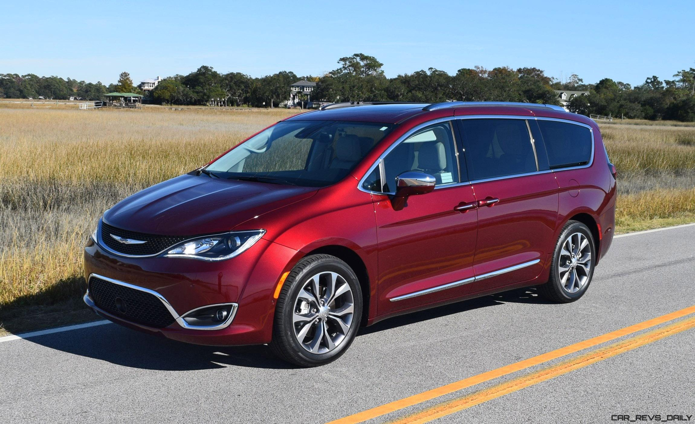 2017 chrysler pacifica hd drive review van of the year award winner. Black Bedroom Furniture Sets. Home Design Ideas