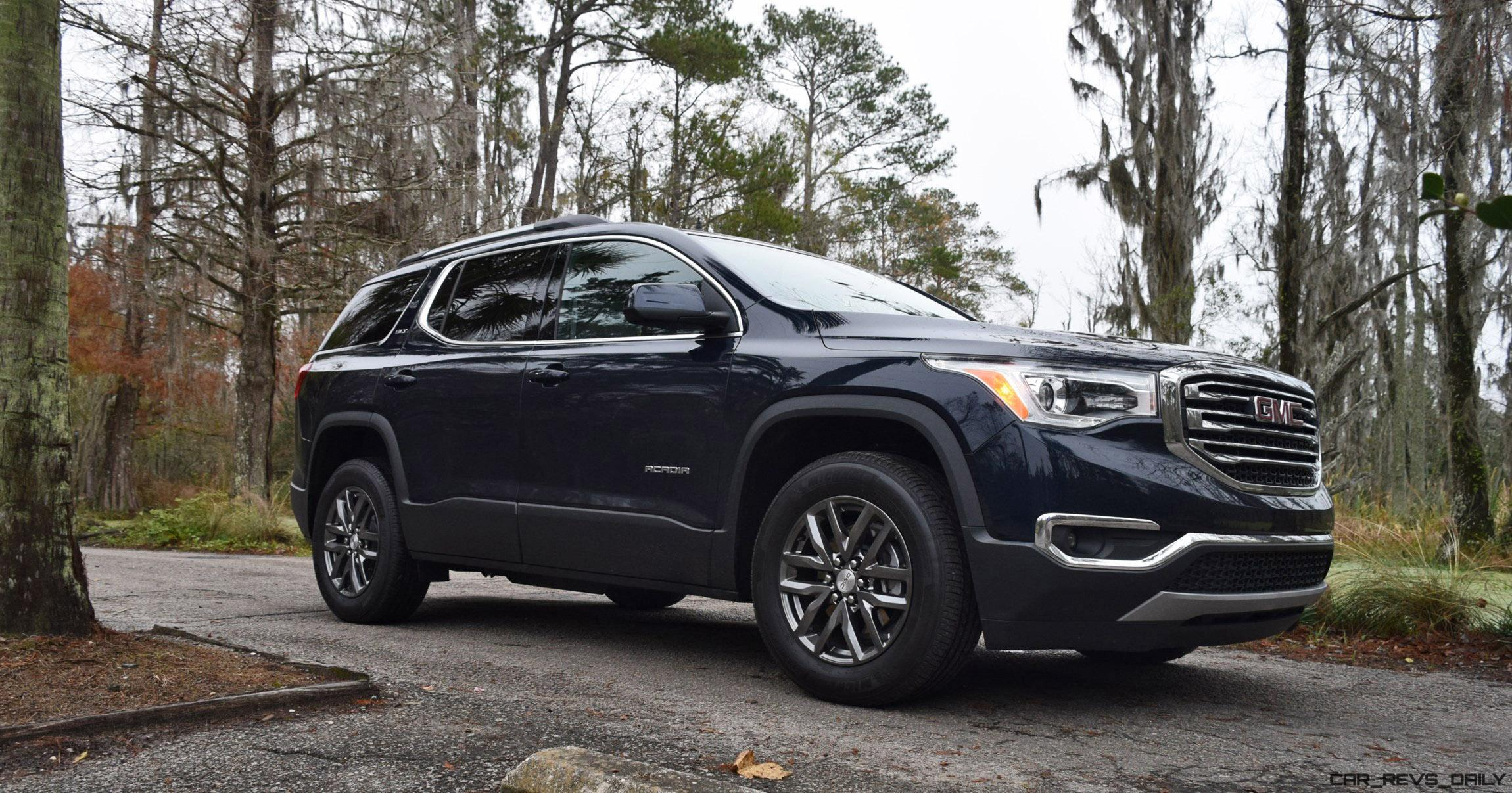 2017 gmc acadia slt 1 fwd hd road test review. Black Bedroom Furniture Sets. Home Design Ideas