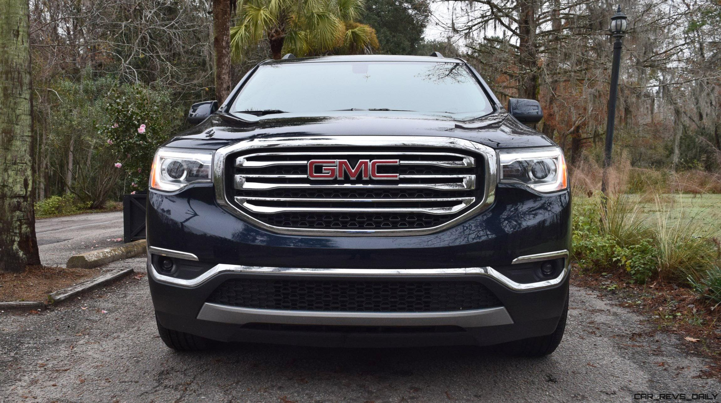2017 gmc acadia slt 1 fwd hd road test review car revs. Black Bedroom Furniture Sets. Home Design Ideas