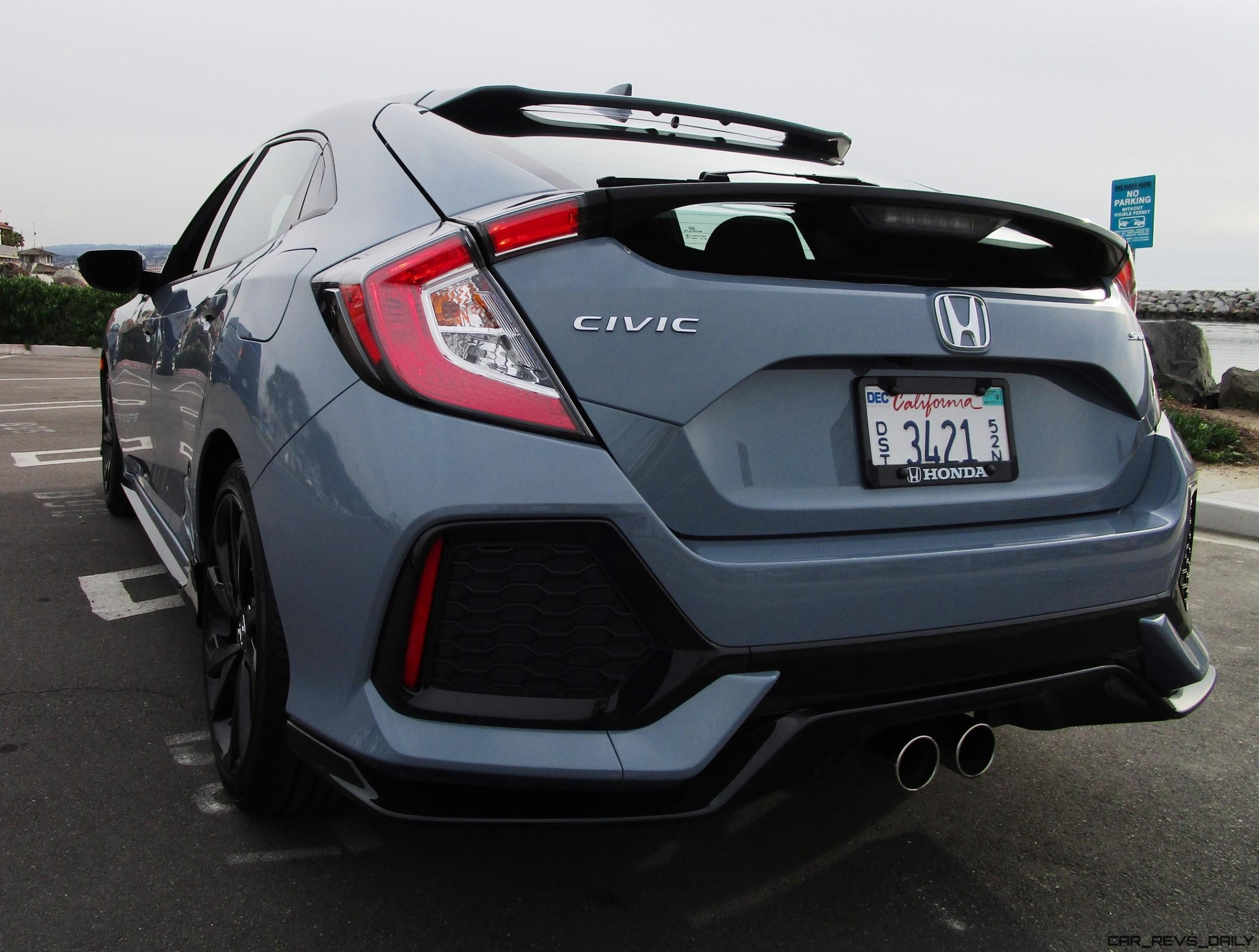 2017 Honda Civic Sport 5 Door 12