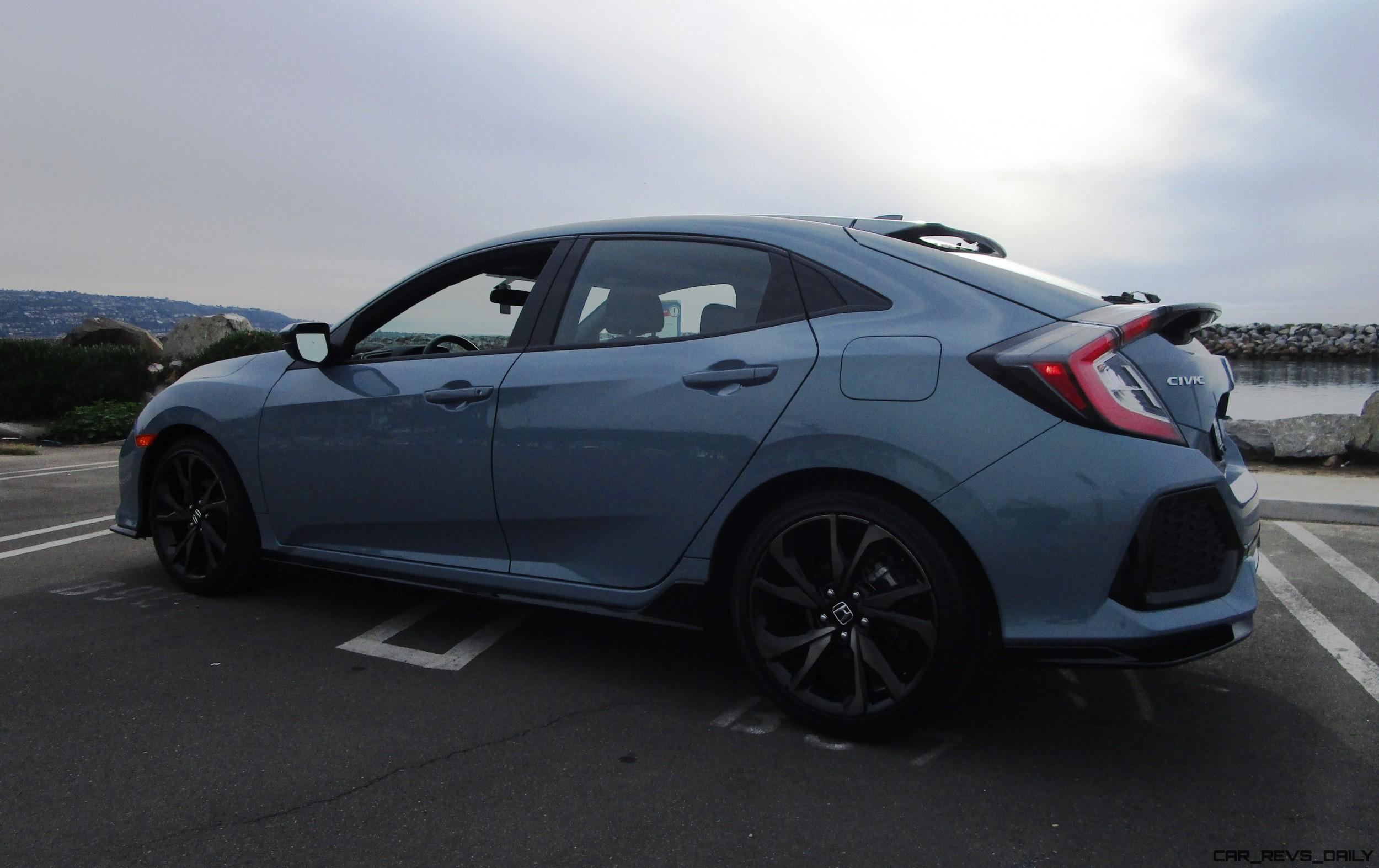 2017 honda civic sport 6mt hatchback road test review by ben lewis. Black Bedroom Furniture Sets. Home Design Ideas
