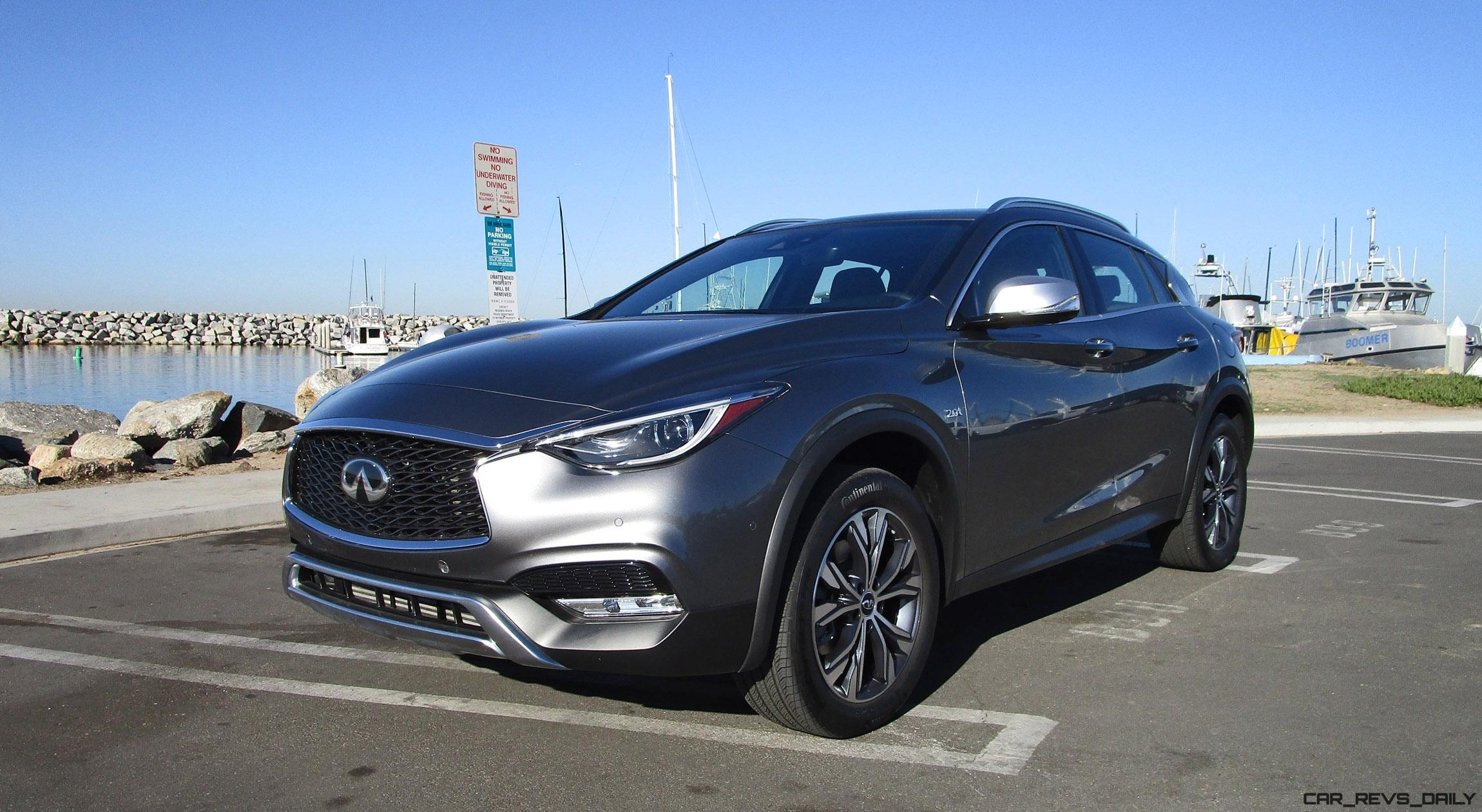 2017 infiniti qx30 premium awd road test review by ben lewis. Black Bedroom Furniture Sets. Home Design Ideas