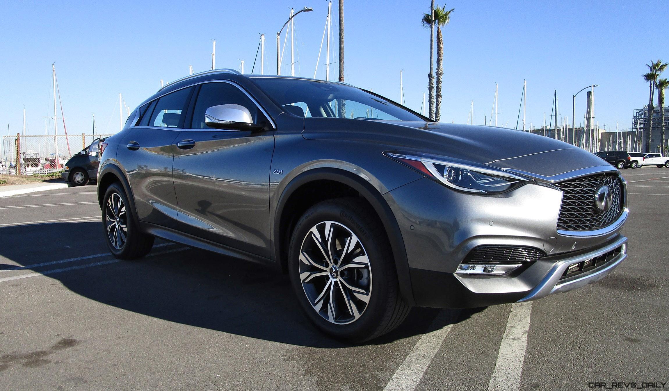 2017 infiniti qx30 premium awd road test review by ben lewis car revs. Black Bedroom Furniture Sets. Home Design Ideas