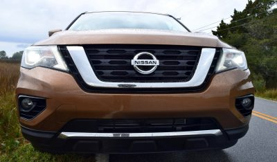 2017 Nissan Pathfinder Platinum 4wd Road Test Review New Photos