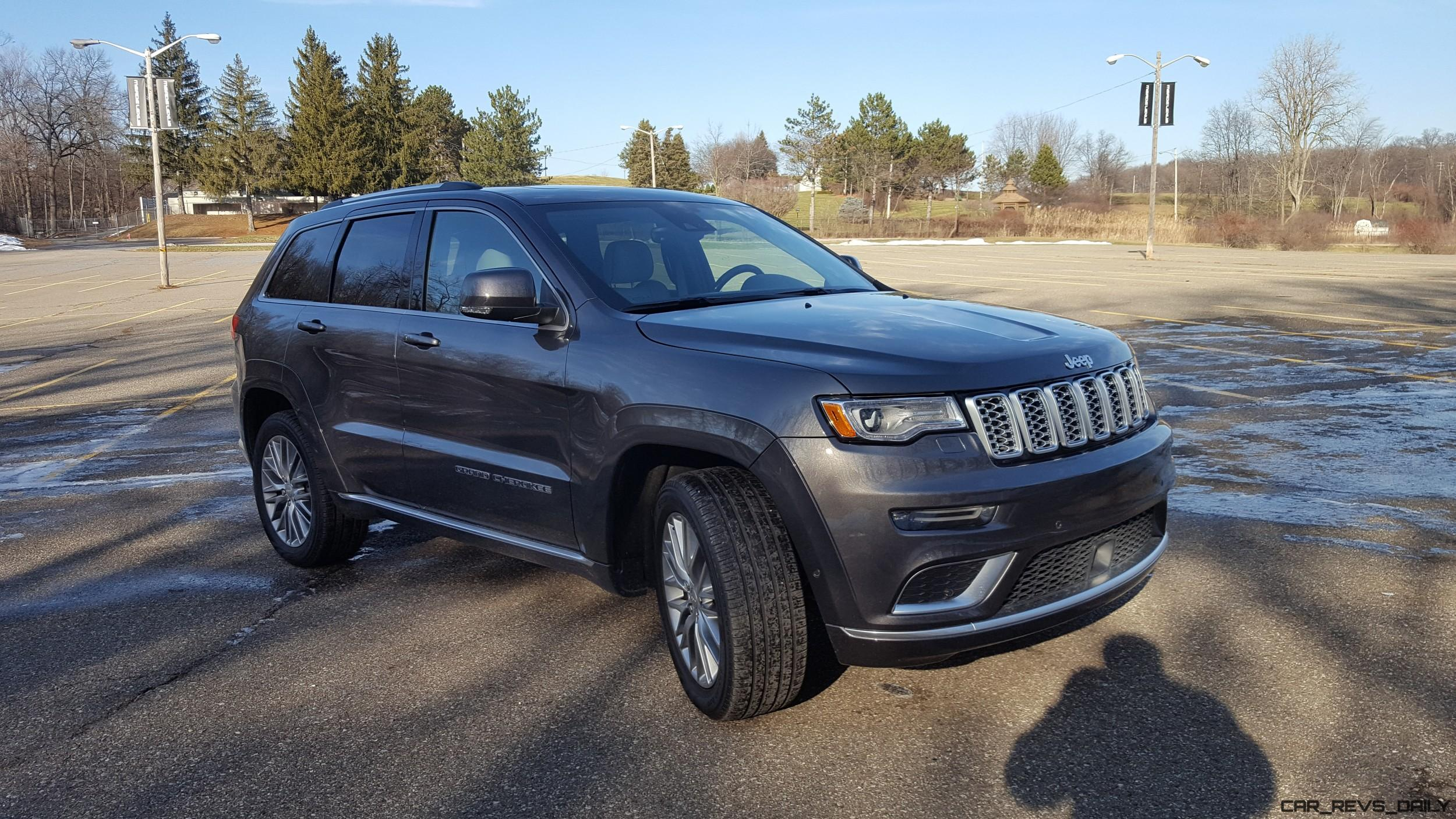2017 jeep grand cherokee summit road test review by carl malek car revs. Black Bedroom Furniture Sets. Home Design Ideas