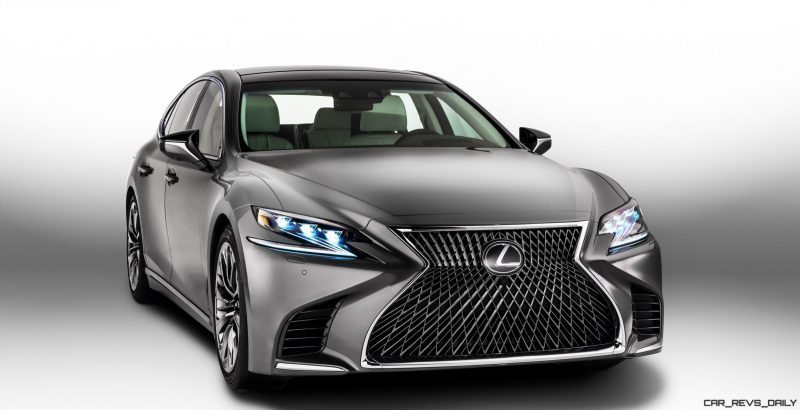 2018 Lexus LS500 Debuts All-New Flagship with 4.5s Turbo 10-Speed ...