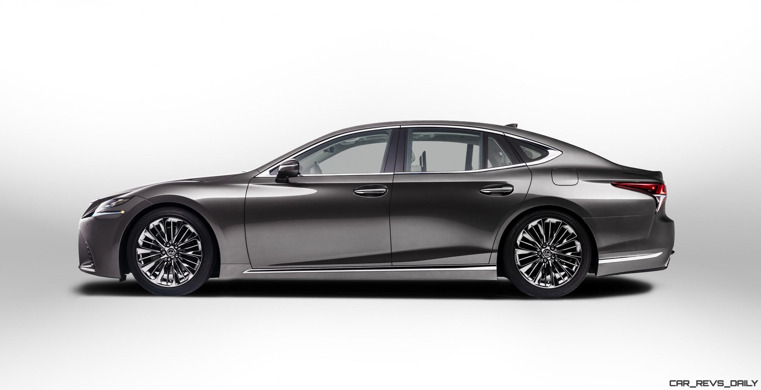 2018 Lexus LS500 Debuts All-New Flagship with 4.5s Turbo ...