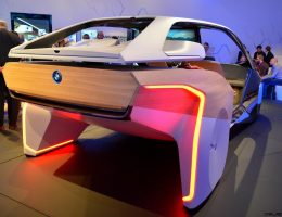 2017 BMW i Inside Future Sculpture Previews HoloActive Gesture Controls