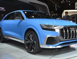2017 Audi Q8 Concept – Near-Production SUV Limo Shows Face in Detroit