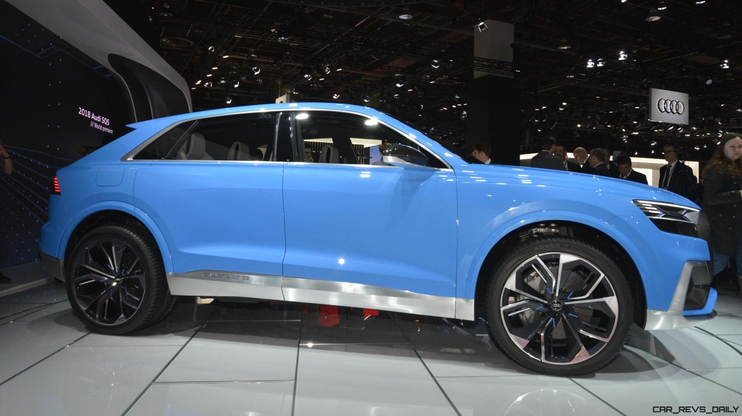 2017 audi q8 concept near production suv limo shows face. Black Bedroom Furniture Sets. Home Design Ideas
