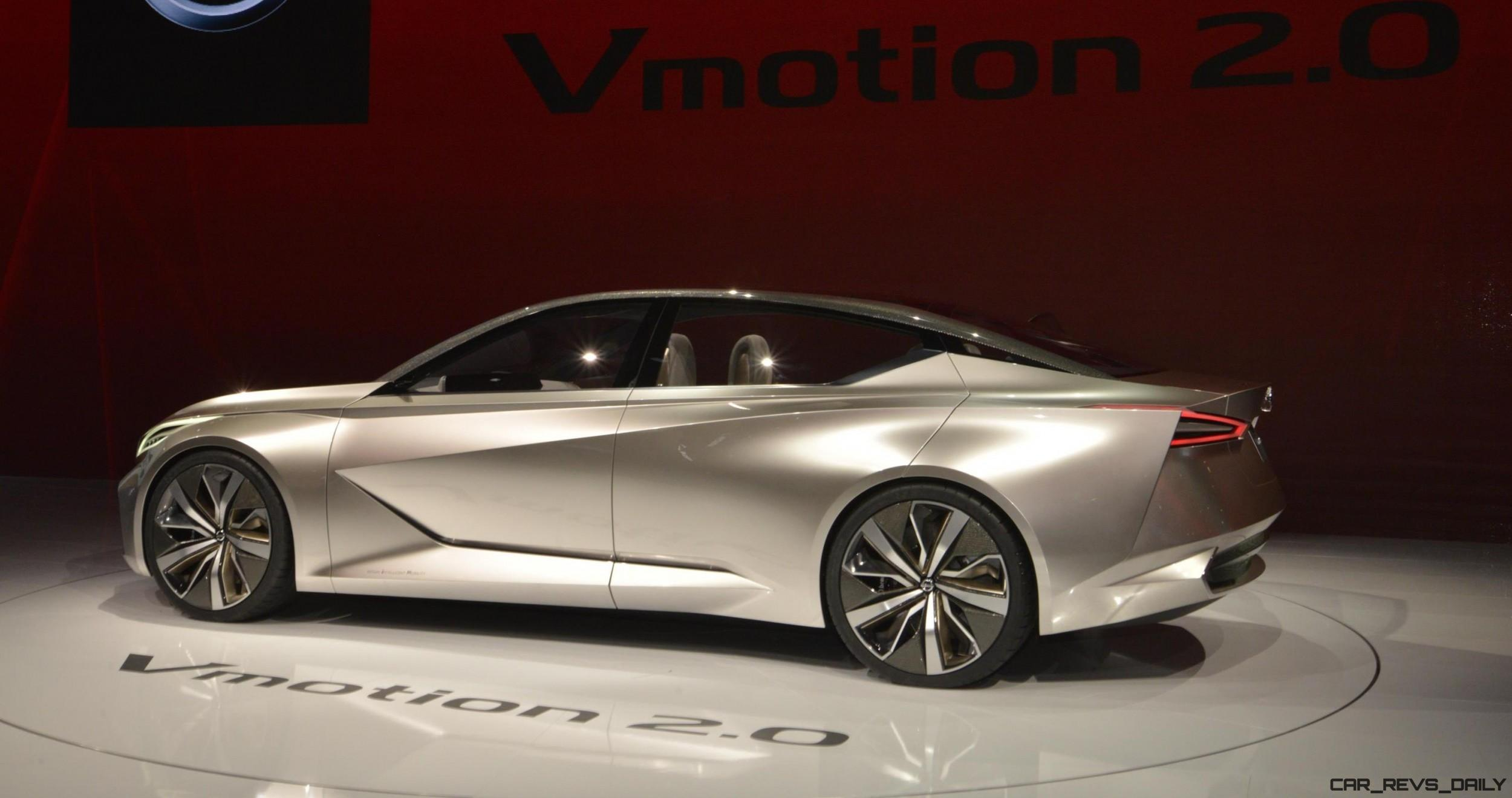 2017 Nissan Vmotion 2.0 Shows Razor-Sharp New Design Direction