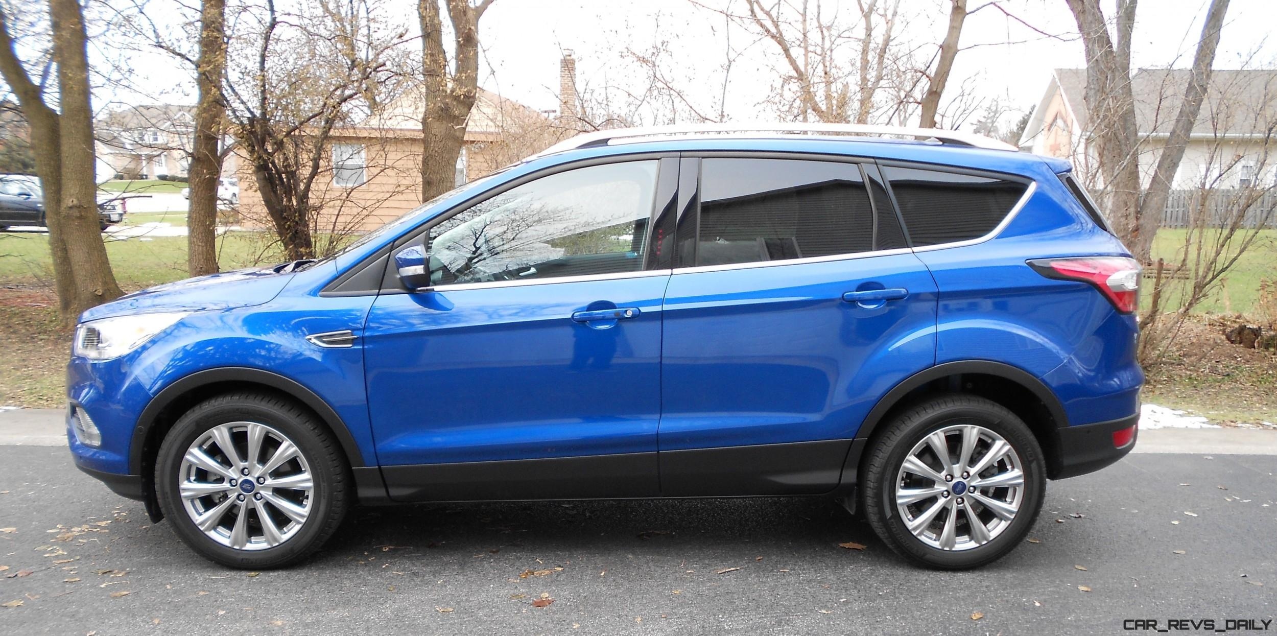 2017 ford escape titanium fwd road test review by ken hawkeye glassman. Black Bedroom Furniture Sets. Home Design Ideas