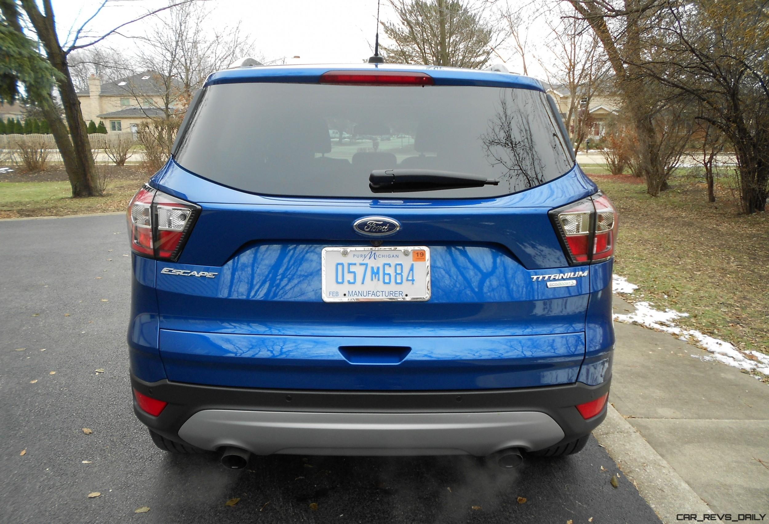 """2017 Ford ESCAPE Titanium FWD Road Test Review By Ken """"Hawkeye"""