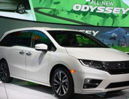 Honda Unveils 2018 Odyssey Minivan [Live Images]