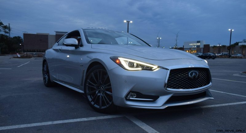 2017 INFINITI Q60 Red Sport 400 - Exterior Photos 1