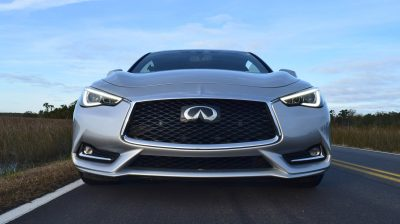 2017 INFINITI Q60 Red Sport 400 - Exterior Photos 10
