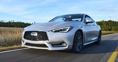 2017 INFINITI Q60 Red Sport 400 - Exterior Photos 20