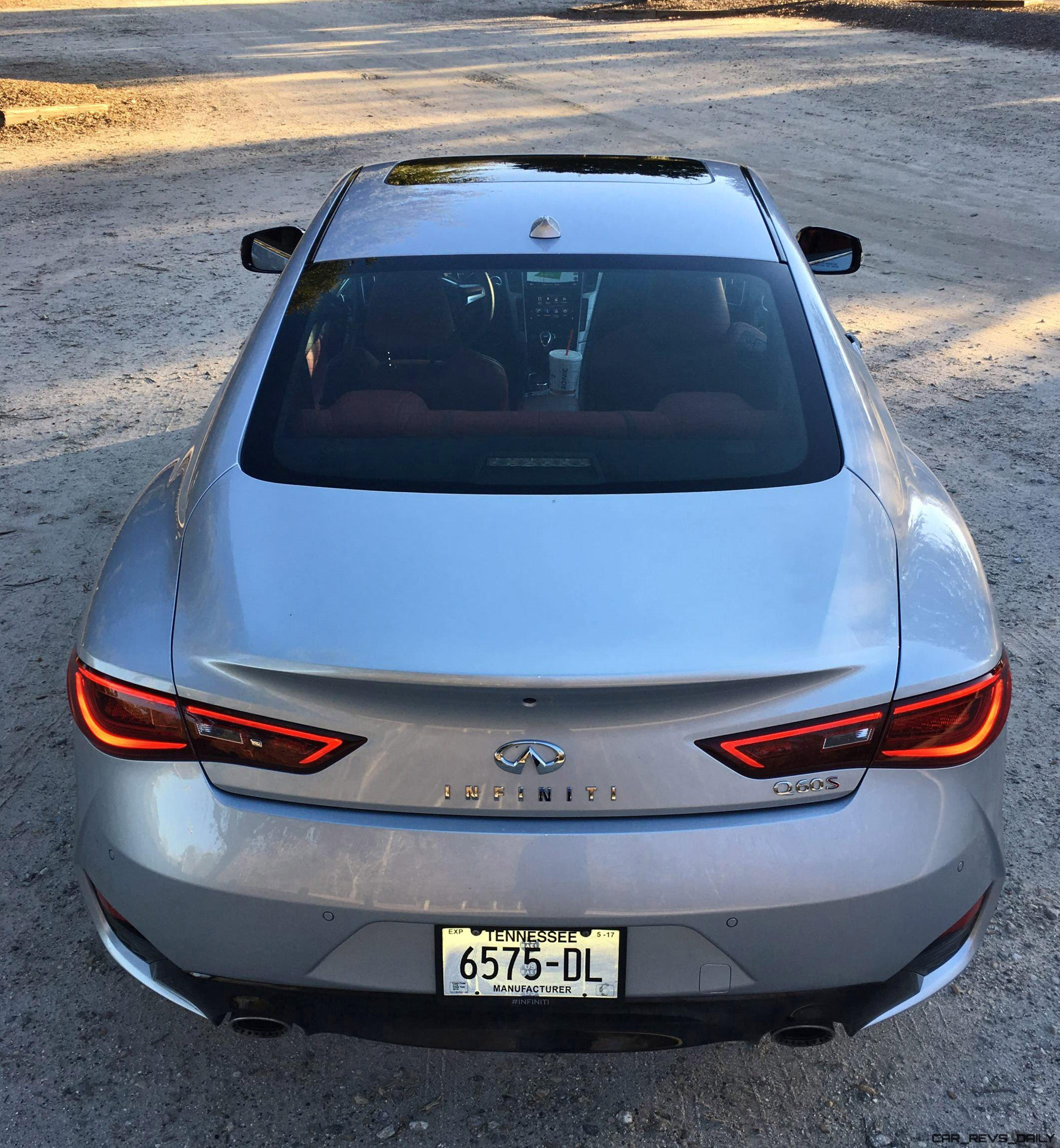 2017 Infiniti Q60 Exterior