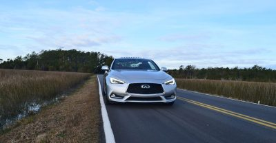 2017 INFINITI Q60 Red Sport 400 - Exterior Photos 4