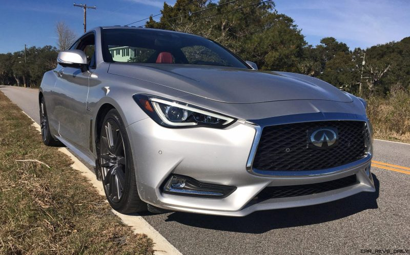 2017 INFINITI Q60 Red Sport 400 - Exterior Photos 50