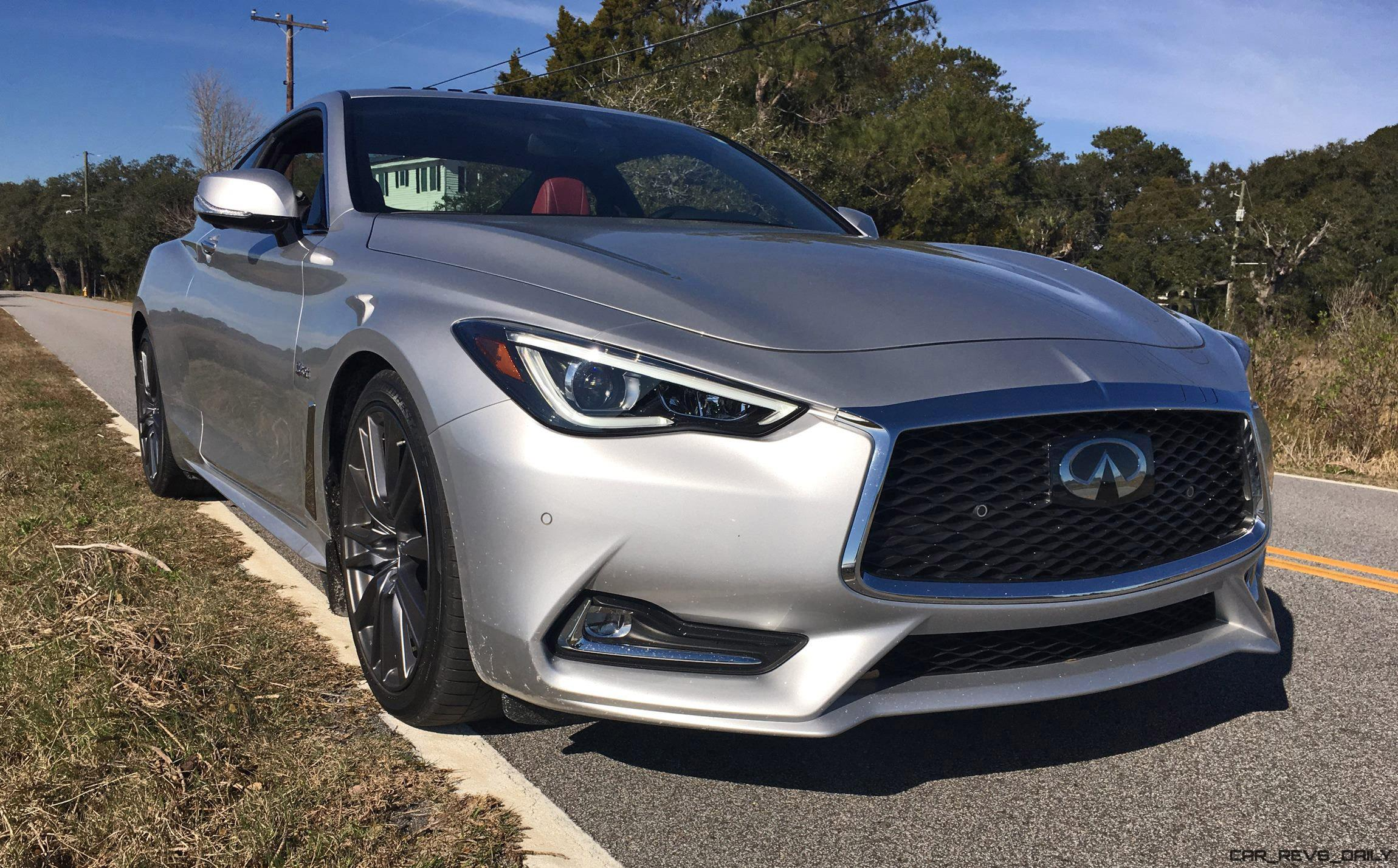 2017 infiniti q60 red sport 400 first drive review autos post. Black Bedroom Furniture Sets. Home Design Ideas