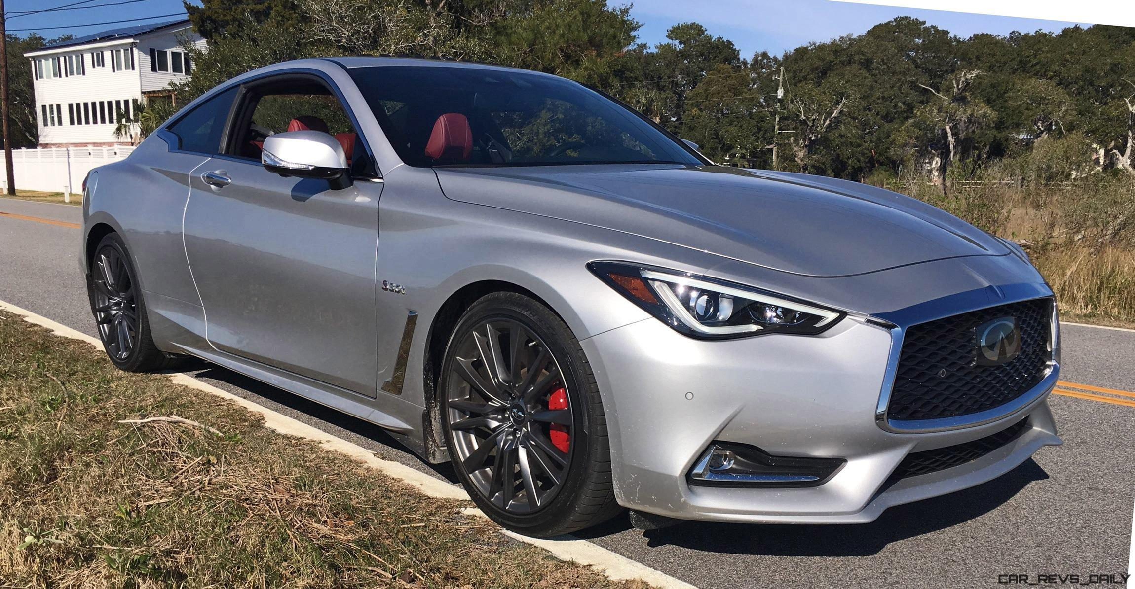 2017 infiniti q60 red sport 400 hd road test review car shopping. Black Bedroom Furniture Sets. Home Design Ideas